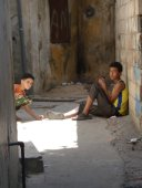 Kids in Palestinian Refugee Camp Lebanon